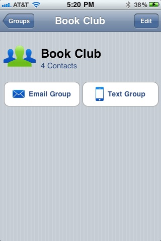Contacts Groups Free screenshot-3