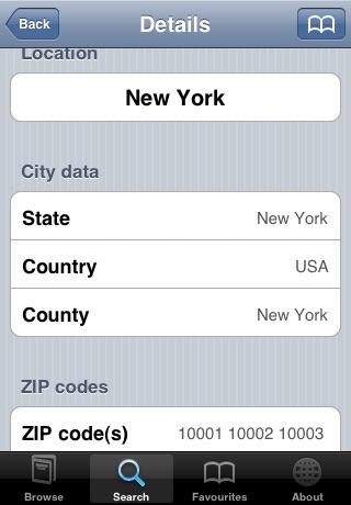 点击获取ZIPcodes