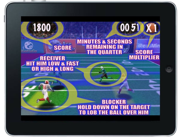 Blitz Football HD FREE screenshot-3