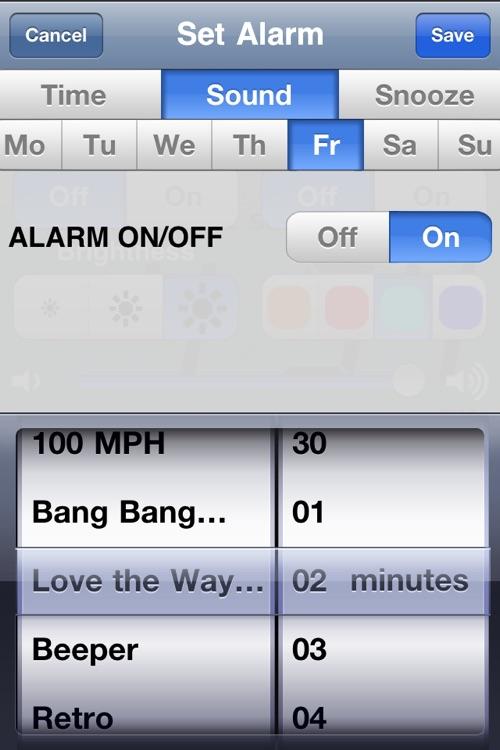 Alarm Simply - 7 Day Speaking & Music Alarm clock screenshot-3