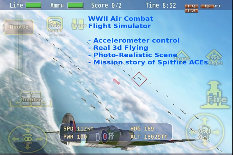 Warbirds Spitfire screenshot-0