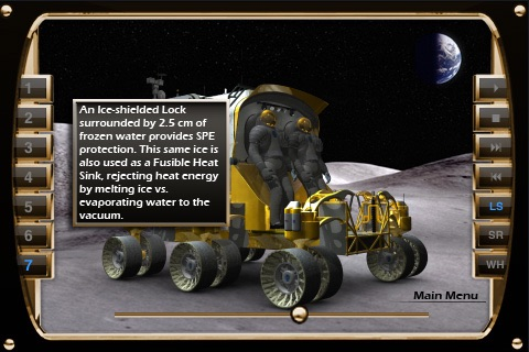 NASA Lunar Electric Rover Simulator screenshot-2