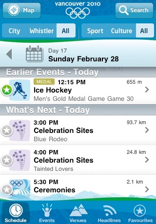 2010Guide - Vancouver 2010 Olympic Winter Game screenshot-3