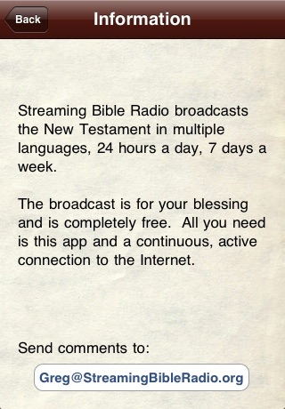 Streaming Bible Radio screenshot-3