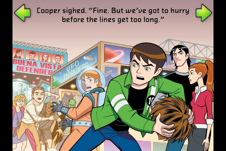 Ben 10 Science Friction- Kids' Book