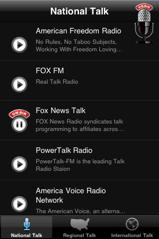 Talk Radio News - Loc... screenshot1