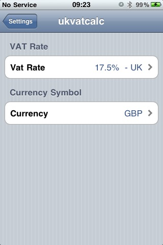 World VAT and TAX Calculator screenshot-3