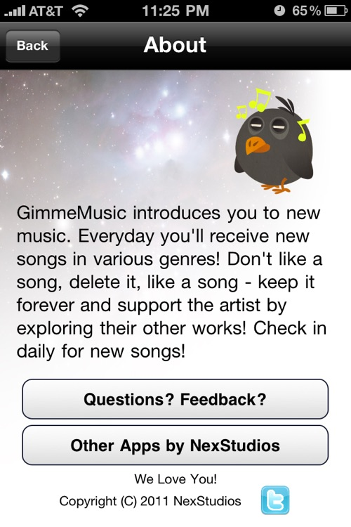 Gimme Music - Music Discovery Tool