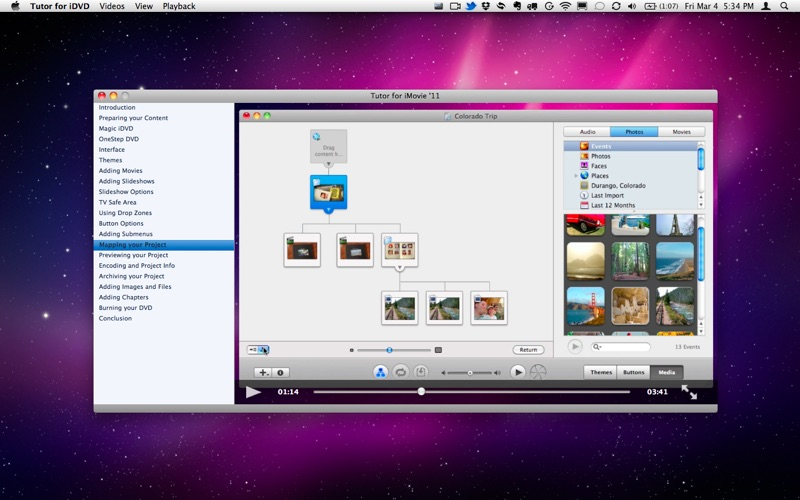 Tutor for iDVD Screenshot
