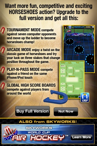 Horseshoes PRO™ Lite  - The Classic Game of HorseShoes