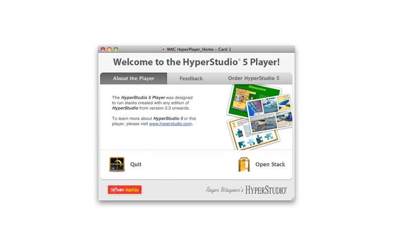 HyperStudio Player Screenshot