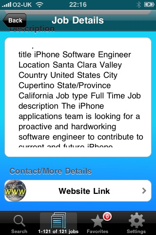 JobFinder screenshot-2