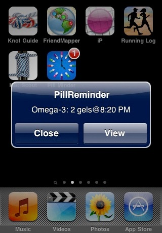 Pill Reminder Pro (Push Notification) screenshot-1