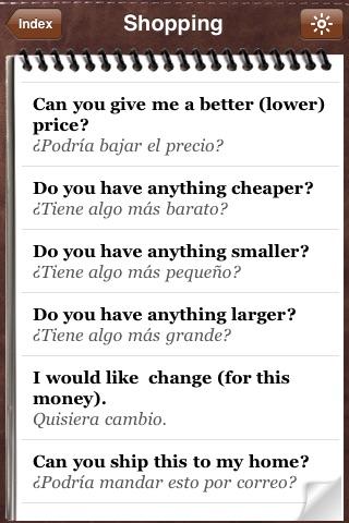 Spanish for Tourists - Audio Phrasebook