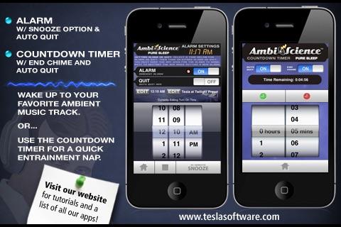 Pure Sleep Premium* | AmbiScience™ • Binaural & Isochronic Ambient Sleep Utility screenshot-4