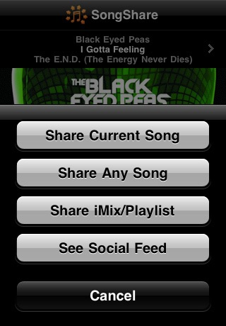 SongShare screenshot-1