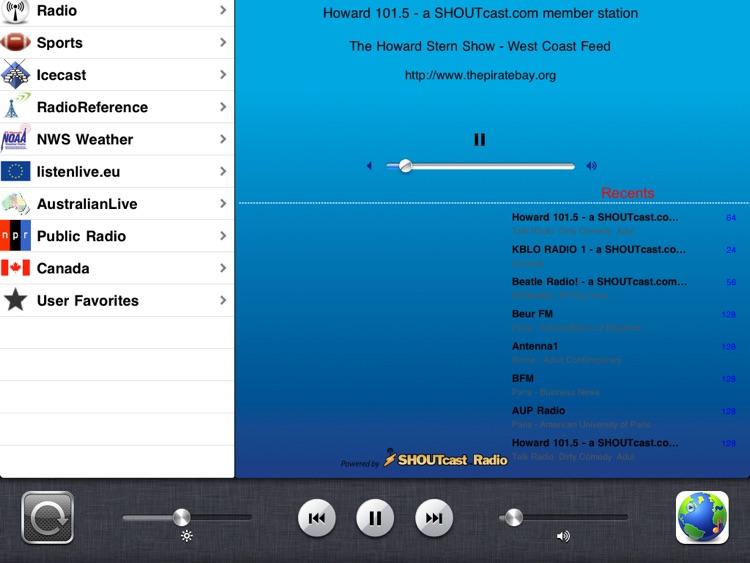 Radio - iPad Edition screenshot-4