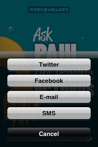 Ask Paul the Psychic Octopus screenshot-4