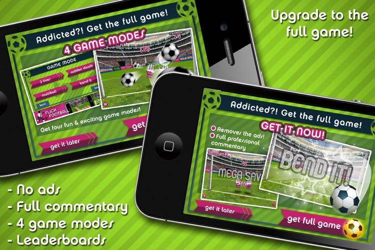 Flick Football Super Save Hero screenshot-4