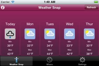 Weather Snapのおすすめ画像3