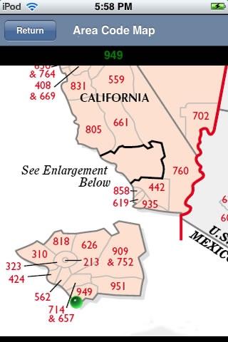 Area Code Info