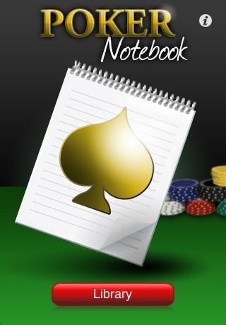 Poker Notebook screenshot one