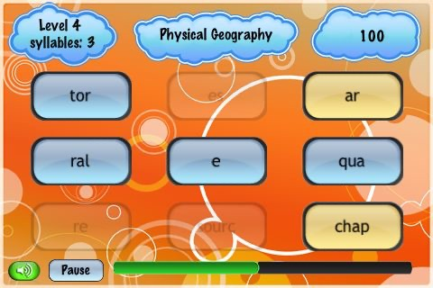 Split Words Lite - OS4 screenshot-3