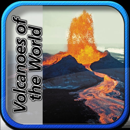 Volcanoes of the world icon