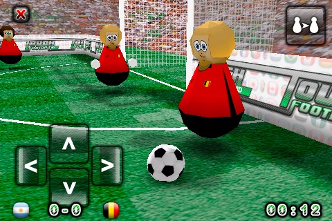 Touch Football 3D Lite screenshot-3