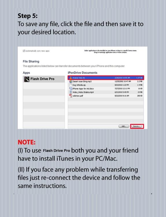 USB Flash Drive for iPad screenshot-3