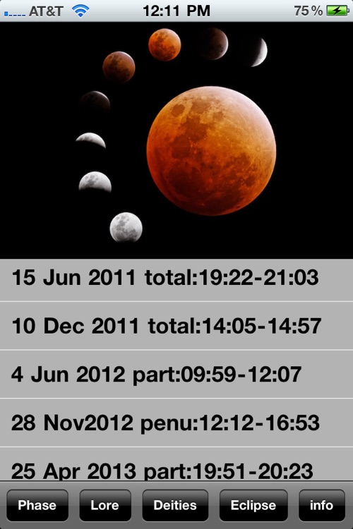 New Age Moon Calendar screenshot-4