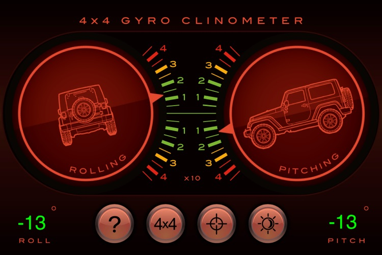 4x4 Gyroscope Clinometer screenshot-2