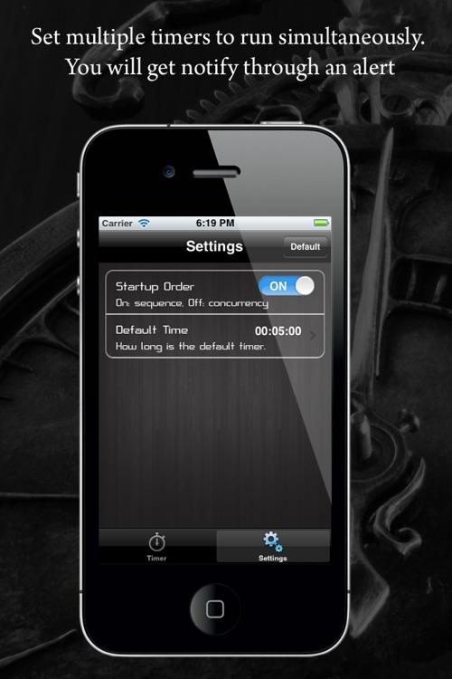 Cooking Timer! Lite screenshot-4