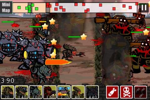 2012 Zombies vs Aliens screenshot-3