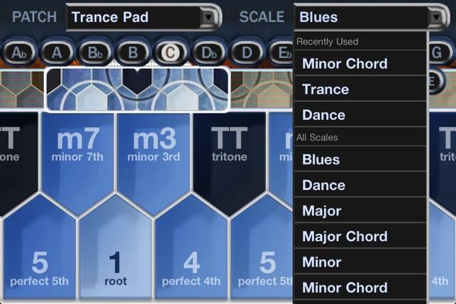 Hexaphone - iOS Keyboard Screenshot