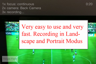 Quick Camera - capture your movie fast screenshot two