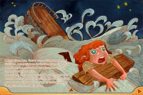 Finger Books-Gullivers Travels