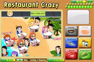 A Restaurant Crazy Lite screenshot one