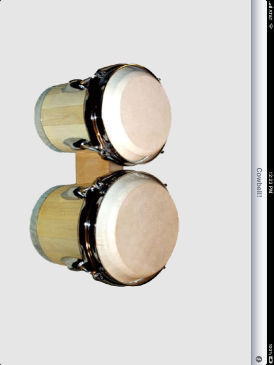 Cowbell for iPad