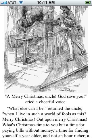 Christmas Carol (by Charles Dickens) screenshot-3