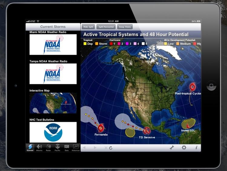 NOAA Hurricane Center HD