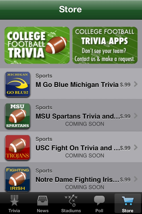 College Football Trivia and More screenshot-4