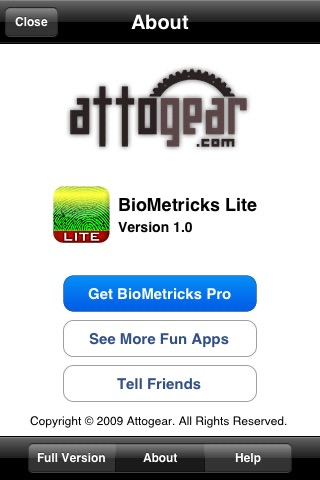 IQ Analyzer - BioMetricks Lite screenshot-1