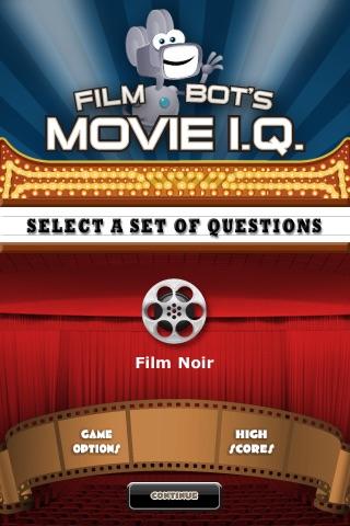 Film Noir - Film Bot's Movie I.Q. (FREE)