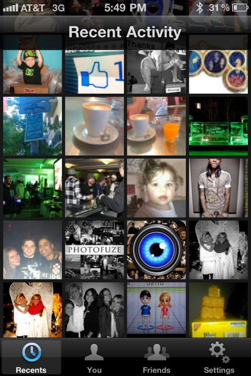 Photofuze - Upload, View & Manage Photos from Facebook, Flickr & Picasa, All In One Place