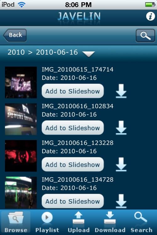 Patriot Javelin Live DLNA Digital Media App