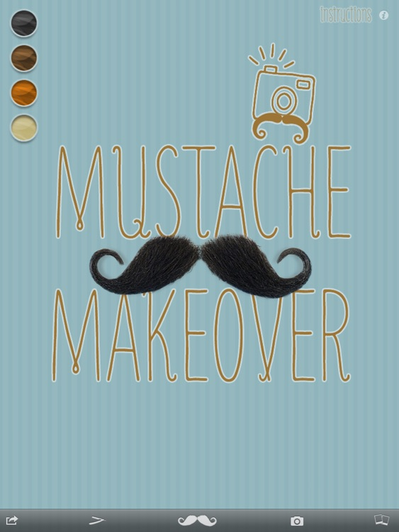 Mustache Makeover Lite HD screenshot-4