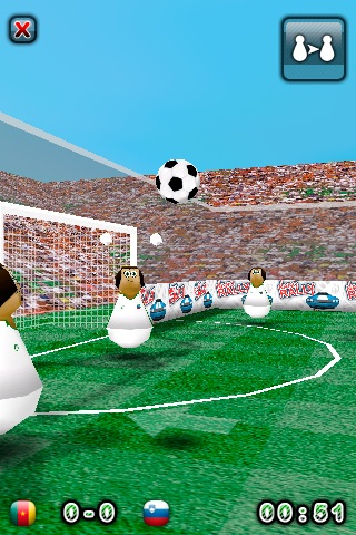 Touch Soccer 3D Lite screenshot-1