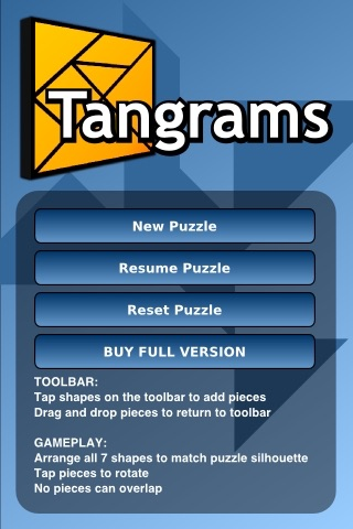 Tangrams Lite