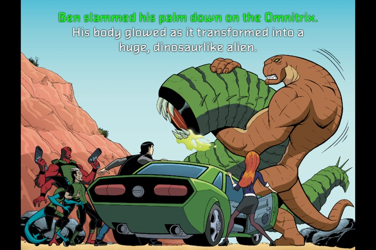 Ben 10 Triple Threat - Children's Book screenshot-4